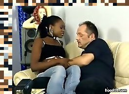 black teen girl interracial